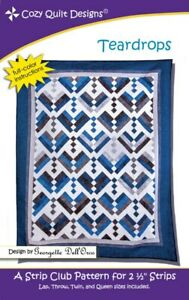 Teardrops-quilt-pattern-by-Cozy-Quilt-Designs
