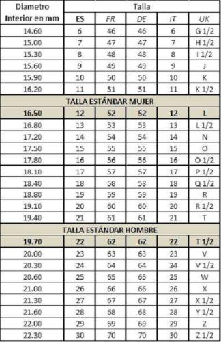 ANILLO ACERO MONOMANIA 25300 TALLA 8,10,12,13,14,16 Y 17 RING BODA COMPROMISO
