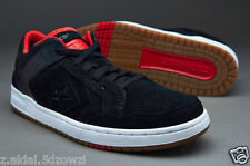 4e5d06f823d7 Converse Cons Weapon Skate OX Black Red Skateboard Shoes Size UK 6 New (373)