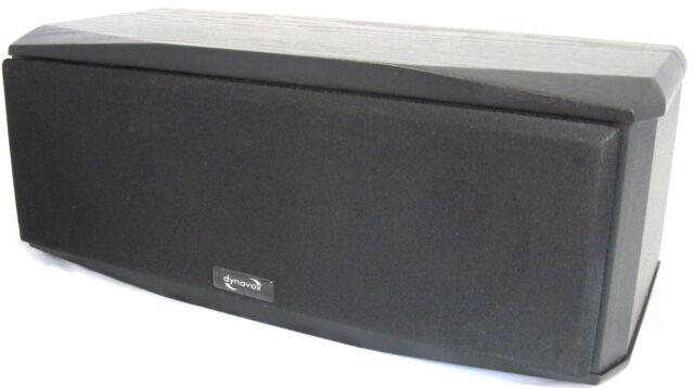 Dynavox TG 1000B-C Centerspeaker Centerlautsprecher schwarz 50 Watt