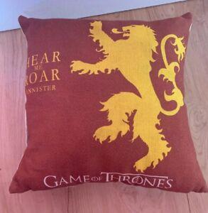 """100% De Qualité Game Of Thrones 25"""" House Sigil Oreiller/coussin-lannister-afficher Le Titre D'origine Marchandises De Proximité"""