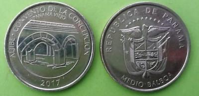 1971 Rare Proof~Only 11,000 Minted~Uracca~Free Shipping Panama Centesimo