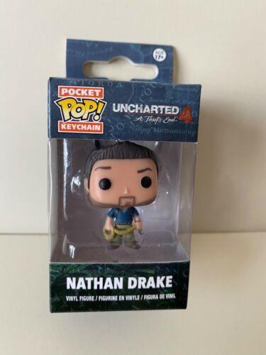 Funko Pop Llavero uncharted 4 Nathan Drake.