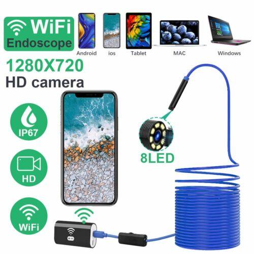 1//5//10m USB Wifi Wasserdicht Endoskop Inspektion Kamera für iPhone Android IOS