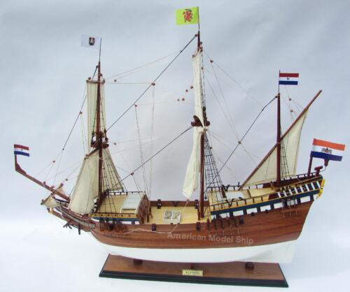 "DUYFKEN Wooden Tall Ship Model 36/"" Handmade Wooden Ship Model"