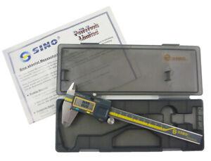 LS 0-150mm 0.02mm Genauigkeit Messwerkzeug Messeinsatz Messschieber M1E4 2X