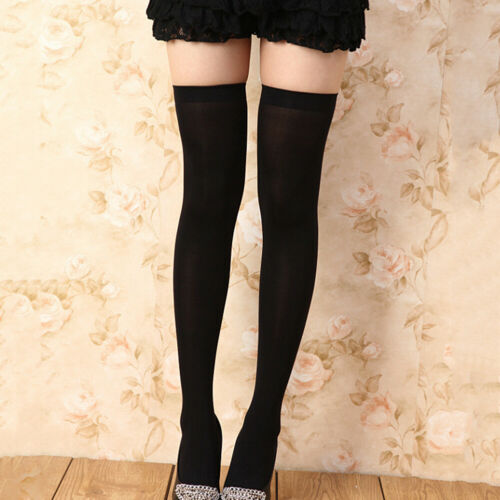 LN/_ Women Warm Stretch Over The Knee Socks Stockings Long Cotton High Tights T