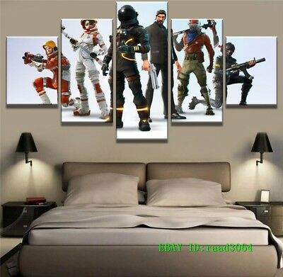 fortnight game 5p painting hd print on canvas home decor