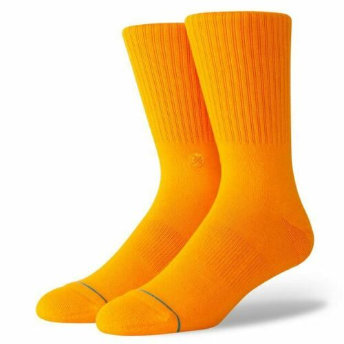 Stance Uncommon Solids Everyday Socks Individual /& Packs of 3 Wide Colour Range