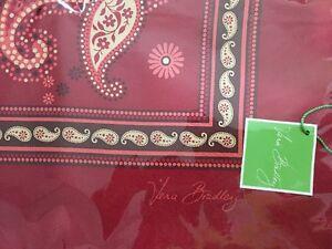 Vera-Bradley-Retired-Mesa-Red-Limited-Edition-Silk-Scarf