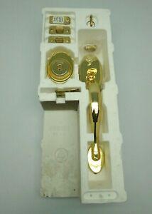 Harloc by Yale Summit Series McKinley Handleset 642M-D.C-Lip US3 P.Brass 1727HW