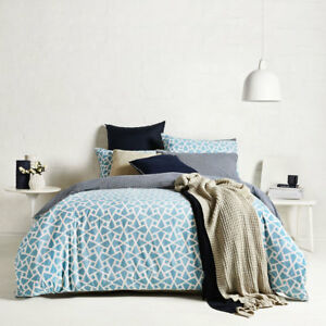 Ardor-Coast-Turquoise-Single-Bed-Size-Reversible-Doona-Quilt-Cover-Set-RRP89-95