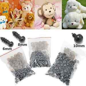 100pcs-Bag-Black-Plastic-Safety-Eyes-For-Teddy-Bear-Dolls-Toy-Animal-Felting-Hot