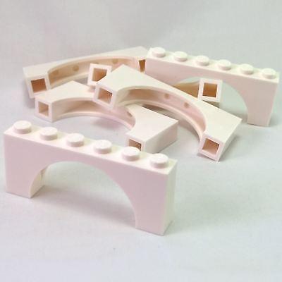 Medium Thick Top White Arch 1 x 6 x 2 6 NEW LEGO Brick