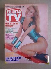 GUIDA TV n°20 1985  Copertina Lee Ann Loomis  [G435]