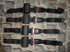 FORD ESCORT MK3 MK4 CONVERTIBLE REAR SEAT BELTS XR3I