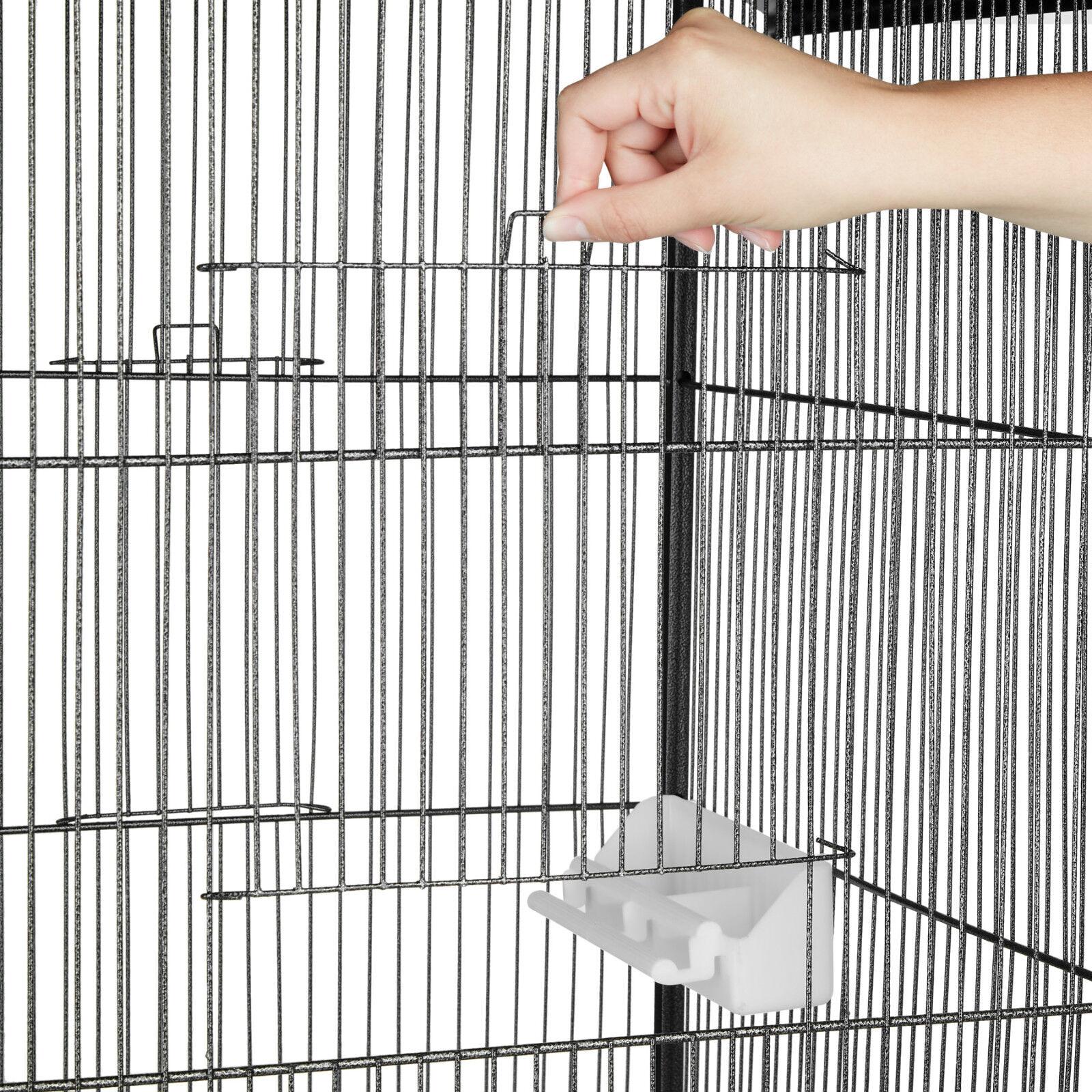 Volière cage à oiseaux oiseaux oiseaux canaries perruches perroquets metal b64b1b