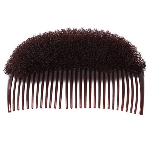 Ladies Women Large Hair Shaper Fashion Bump Comb Blonde Hairdressing 8C