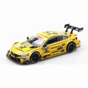 1-43-Scale-BMW-M4-DTM-2017-16-Racing-Car-Model-Car-Diecast-Vehicle-Collection