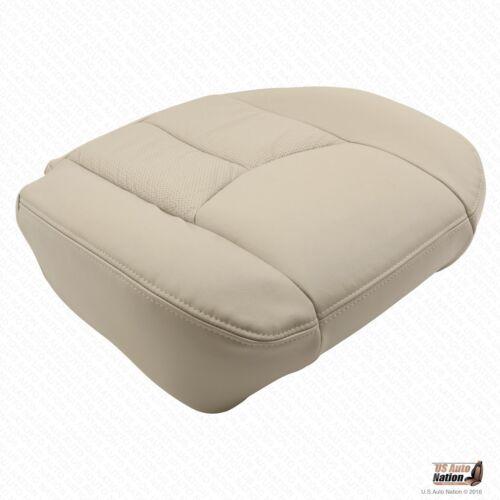 2004 05 06 Cadillac Escalade None Platinum Driver Bottom Leather Seat Cover Tan