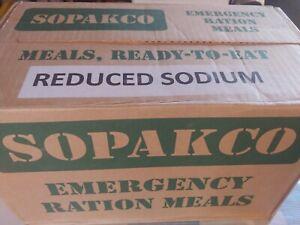 Sopakco MRE Case 14 Reduced Sodium MREs BEST BY-INSP/TEST-0