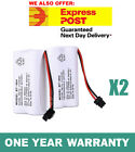 NEW Cordless Phone Battery 2x For Uniden BT-904 BT-904S BT802 2.4V 800MAH Ni-MH