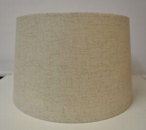 Large Hessian Table Lamp Shade 14 35cm Contemporary Neutral Ebay