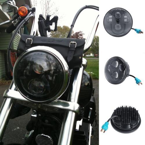 "5.75/"" LED Projector Headlight For Yamaha V-Star XVS 650 1100 Custom Silverado"