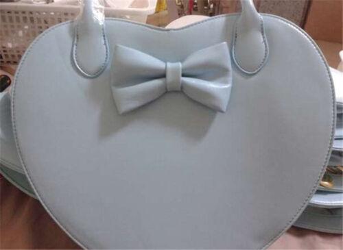 Women/'s Lolita cœur forme nœud Sac a bandouliere Outdoor Loisirs bandoulière Sac