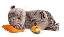 Plüschtier Katze Basik mit Kissen Spielen Scottish Fold Cat Softtoy Peluche 26cm