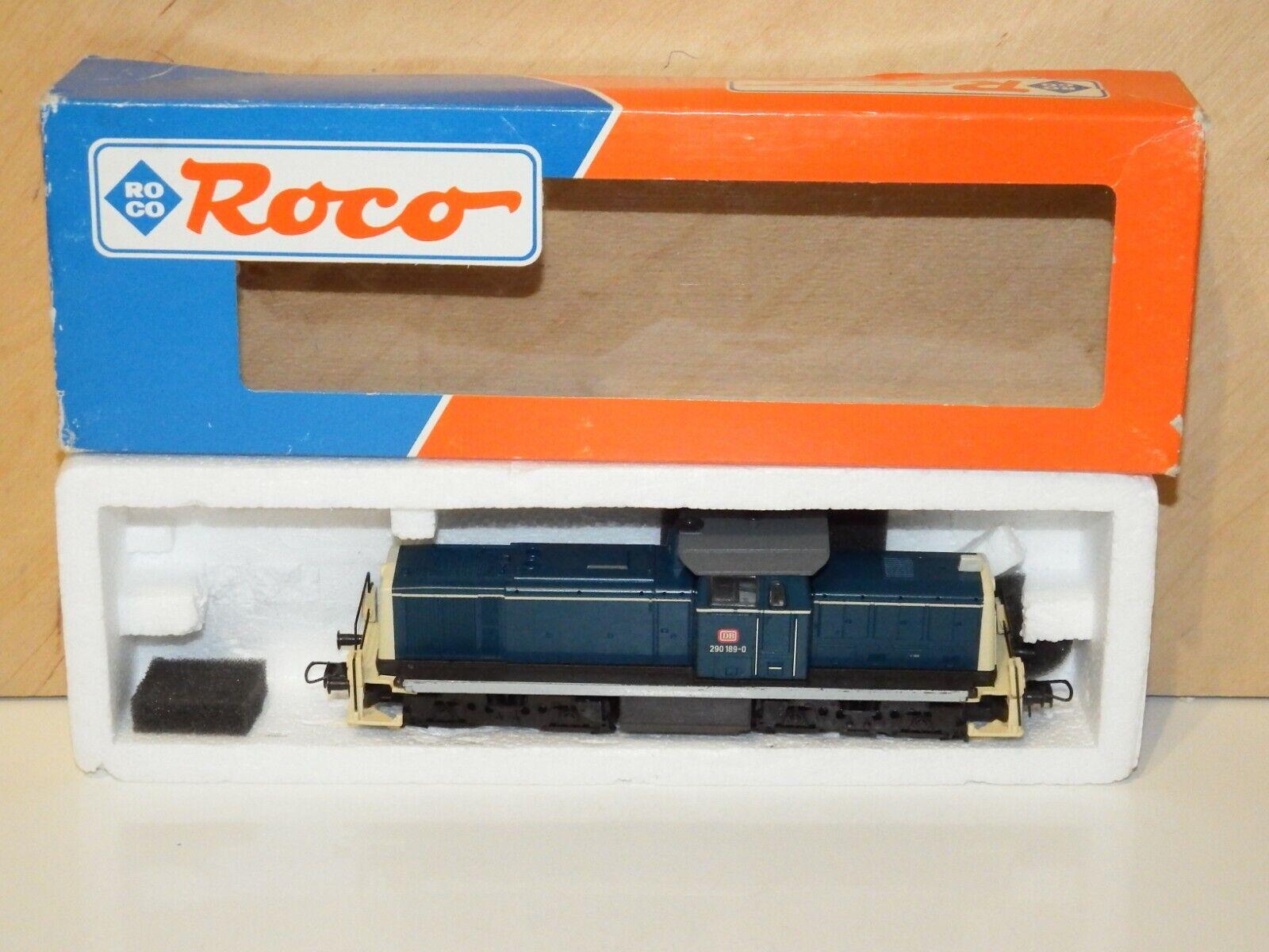 H0 Roco 67875 DSS Diesellok DB BR 290 189-0 not original box 8184