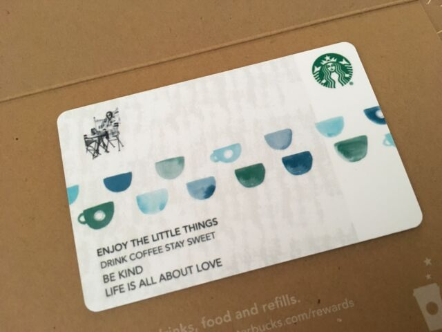 Starbucks Cards Collection On Ebay