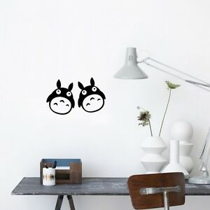 Image Is Loading My Neighbor Totoro Vinyl Decal Art DIY Wall