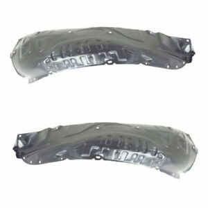 New Front Set Of 2 LH And RH Side Splash Shield Front Section Fits Mazda RX-8