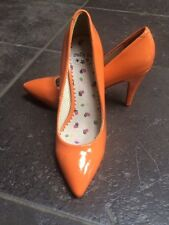 NIEUW! DOLLY DO High heels lak oranje maat 38