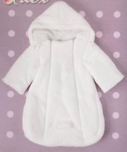 6477953c1 Baby Newborn Snowsuit Footmuff Pramsuit All in One White Blue PinK ...