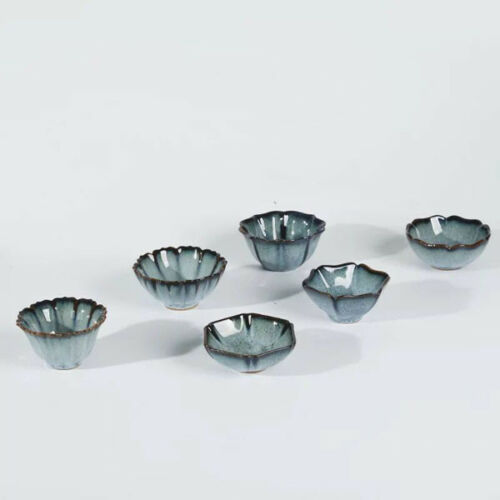 1pc Wonderful Japanese Tea Cups Pottery Tea Bowl Ware Junyou Gongfu Teacup