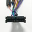 ISO-20Pin-Arnes-de-cableado-Conector-Con-Adaptador-de-camara-de-vision-trasera-para-auto-Stereo-DVD miniatura 2