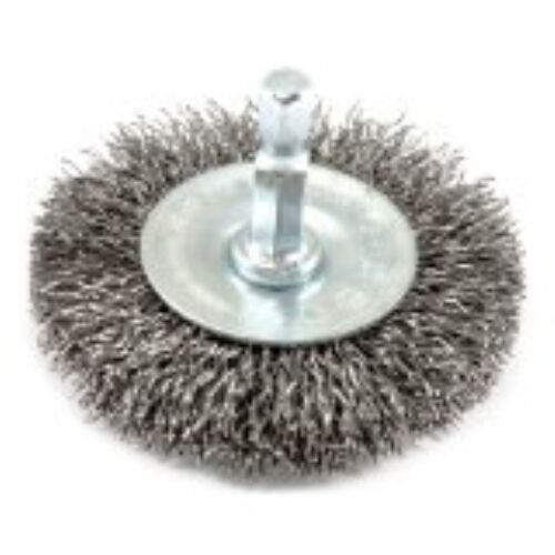 Coarse Crimped with 1//4-Inch Hex Shank Forney 72733 Wire Wheel Brush 2-1//2-Inc