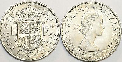 1953 to 1967 Elizabeth II Cupro-Nickel Halfcrown Your Choice of Date