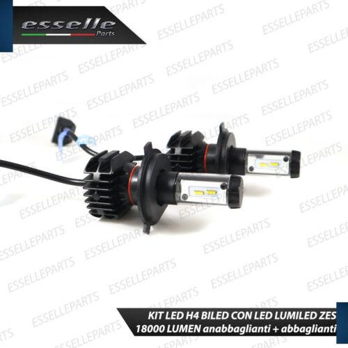KIT LED H4 6000K CANBUS XENON 18000 LM LUMEN REALI FIAT PANDA MK2 II NO AVARIA