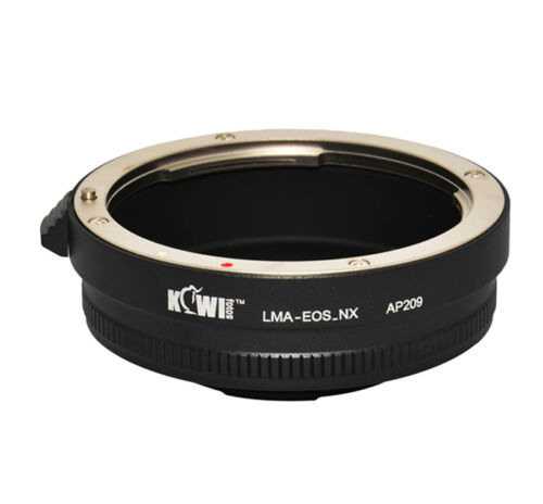 UK Store CameraPlus® Lens Mount Adapter Canon EF lens on Samsung NX mount