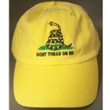 DON'T TREAD ON ME yellow CAP HAT NEW