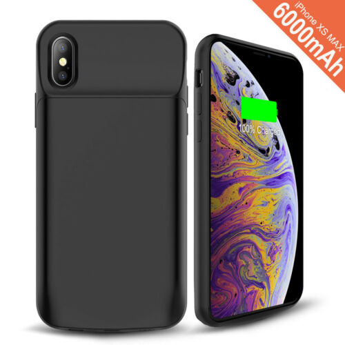 External Rechargeable Battery Phone Case Cover Power Bank For iPhone X XR XS MAX