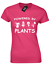 POWERED-BY-PLANTS-LADIES-T-SHIRT-VEGETARIAN-VEGAN-MEME-FASHION thumbnail 5
