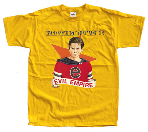 Evil Empire yellow T Shirt all sizes S-5XL100/% cotton Rage Against The Machine