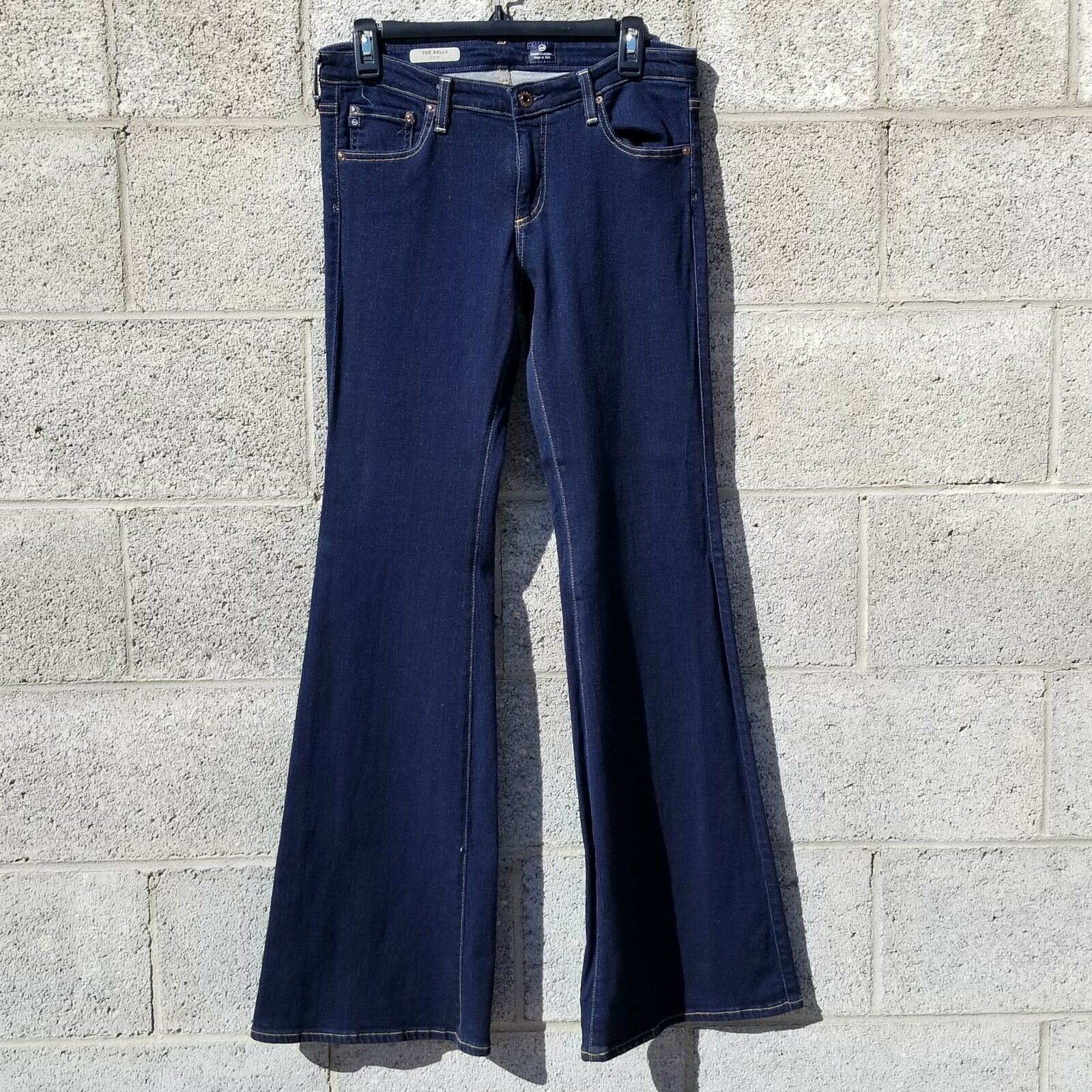 C2 AG Adriano goldschmied Jeans Belle Petite Flares SIZE 30R
