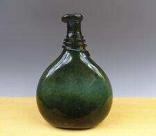 Antique European Dark Glass Bottle/Flask 18TH C.