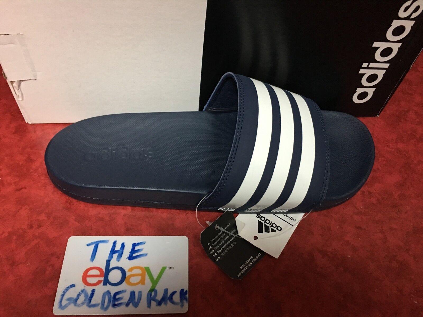 b8d310896faa adidas Performance Women s Adilette CF Stripes W Famous Slide Sandal ...