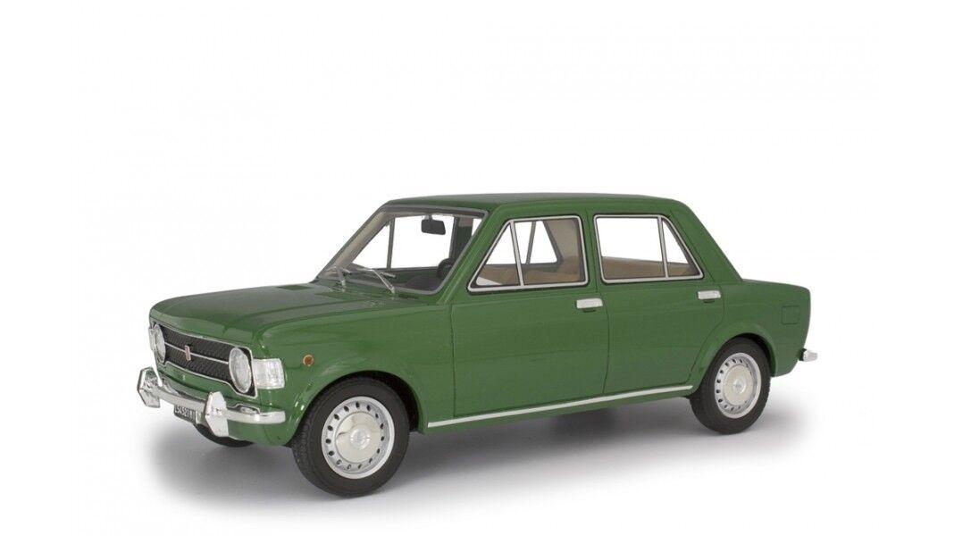 Fiat 128 SERIE 1 1969 vert 1 18 resin Laudoracing lm112d NOUVEAU & NEUF dans sa boîte
